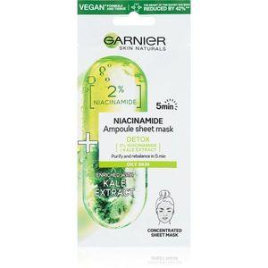 Garnier Skin Naturals arcmaszk tisztító és frissítő hatással 15 g kép
