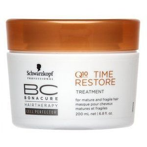 Schwarzkopf Professional BC Bonacure Q10+ Time Restore Treatment maszk érett hajra 200 ml kép