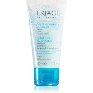 Uriage Hygiène Gentle Jelly Face Scrub gyengéd bőrradír 50 ml kép