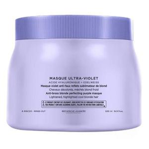 Lila Maszk a Sárga Tónusok Semlegesítésére - Kerastase Blond Absolu Masque Ultra-Violet Anti-Brass Blonde Perfecting Purple Masque, 500ml kép