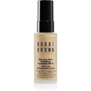 Bobbi Brown Mini Skin Long-Wear Weightless Foundation hosszan tartó make-up SPF 15 árnyalat Cool Ivory 13 ml kép