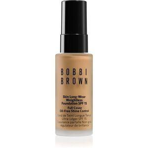 Bobbi Brown Mini Skin Long-Wear Weightless Foundation hosszan tartó make-up SPF 15 árnyalat Warm Natural 13 ml kép