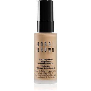 Bobbi Brown Mini Skin Long-Wear Weightless Foundation hosszan tartó make-up SPF 15 árnyalat Warm Sand 13 ml kép