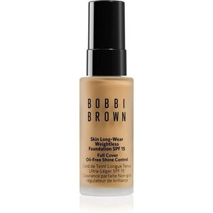 Bobbi Brown Mini Skin Long-Wear Weightless Foundation hosszan tartó make-up SPF 15 árnyalat Natural 13 ml kép