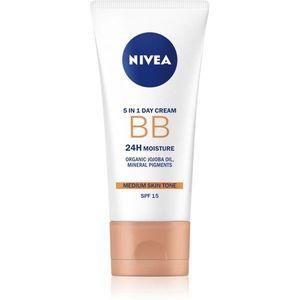 Nivea Skin Care hidratáló hatású BB krém árnyalat Medium 50 ml kép