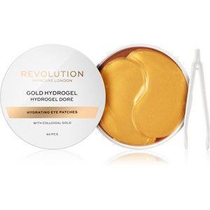 Revolution Skincare Gold Hydrogel hidrogél maszk a szem körül aranytartalommal 60 db kép
