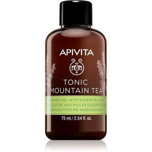 Apivita Tonic Mountain Tea tonizáló tusfürdő gél 75 ml kép