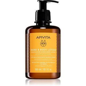 Apivita Hand Care Grapefruit & Honey hidratáló krém kézre és testre 300 ml kép