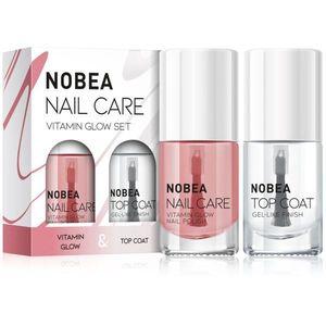 NOBEA Nail care körömlakk szett Vitamin glow set kép