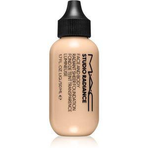 MAC Cosmetics Studio Radiance Face and Body Radiant Sheer Foundation Könnyű alapozó az arcra és a testre árnyalat C0 50 ml kép