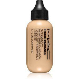 MAC Cosmetics Studio Radiance Face and Body Radiant Sheer Foundation Könnyű alapozó az arcra és a testre árnyalat C1 50 ml kép