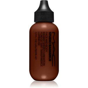 MAC Cosmetics Studio Radiance Face and Body Radiant Sheer Foundation Könnyű alapozó az arcra és a testre árnyalat W8 50 ml kép