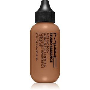 MAC Cosmetics Studio Radiance Face and Body Radiant Sheer Foundation Könnyű alapozó az arcra és a testre árnyalat C6 50 ml kép