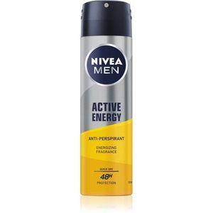 Nivea Men Active Energy izzadásgátló spray 48h 150 ml kép