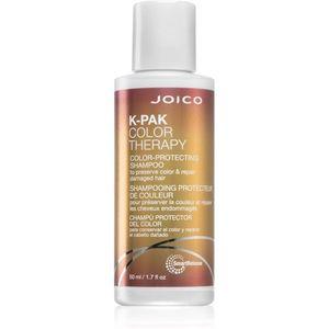 Joico K-PAK Color Therapy regeneráló sampon a festett és károsult hajra 50 ml kép