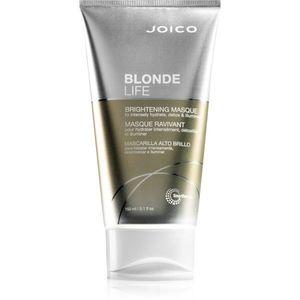Joico Blonde Life élénkítő maszk a szőke és melírozott hajra 150 ml kép