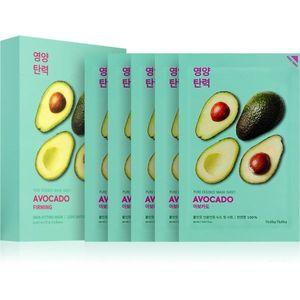 Holika Holika Pure Essence Avocado nyugtató hatású gézmaszk 5x20 ml kép