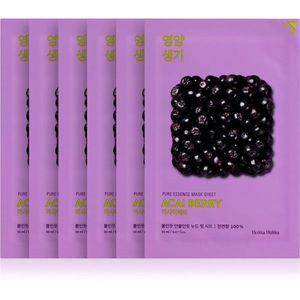 Holika Holika Pure Essence Acai Berry hámlasztó gézmaszk 5x20 ml kép