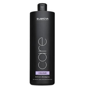 Sampon Ezüstös Reflexekkel a Szőke, Szürkés vagy Szőkített Hajra - Subrina Care Color Silver Shampoo, 1000 ml kép