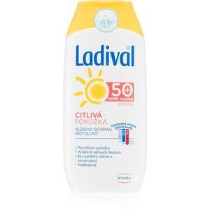 Ladival Sensitive napvédő tej érzékeny bőrre SPF 50+ 200 ml kép