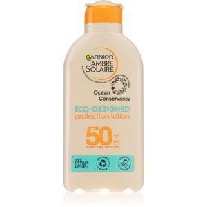 Garnier Ambre Solaire Eco-Designed Protection Lotion napozó krém UVA és UVB szűrővel SPF 50+ 200 ml kép