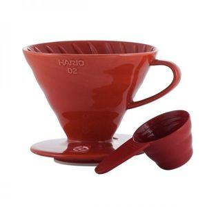 Hario kerámia kávé csepegtető - piros kép