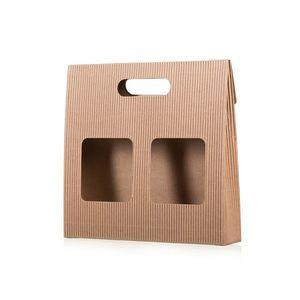 Ajándék doboz kávéra ablakokkal kép