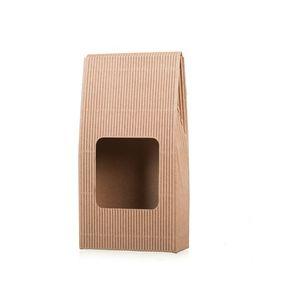 Ajándék doboz kávéra ablakkal kép
