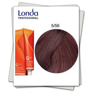 Ammóniamentes hajfesték - Londa Professional árnyalat 5/56 Vörös-lila világosbarna kép