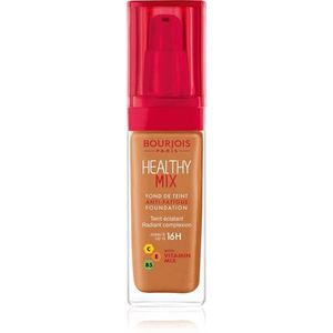 Bourjois Healthy Mix világosító hidratáló make-up 16 h árnyalat 60 Dark Amber 30 ml kép