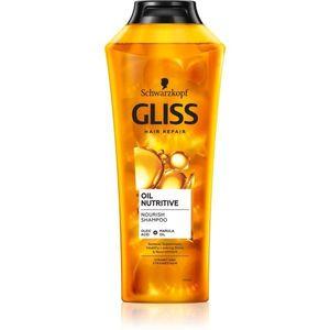 Schwarzkopf Gliss Oil Nutritive tápláló sampon olajjal 400 ml kép