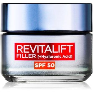 L'Oréal Paris Revitalift Filler nappali krém a bőr öregedése ellen SPF 50 50 ml kép