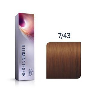 Wella Professionals Illumina Color professzionális permanens hajszín 7/43 60 ml kép