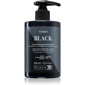 Black Professional Line Toner festék a természetes árnyalatokért Black 300 ml kép