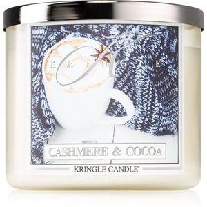 Kringle Candle Cashmere & Cocoa illatos gyertya I. 411 g kép