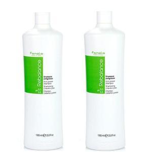 Hajápoló Csomag 2 db. Sampon Zsíros Hajra - Fanola Rebalance Anti Grease Shampoo, 1000 ml kép