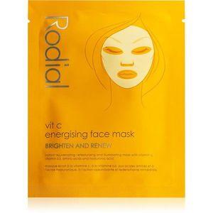 Rodial Vit C Energising Face Mask szövet arcmaszk az arcbőr élénkítésére és vitalitásáért C vitamin 20 ml kép
