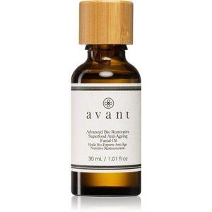 Avant Limited Edition Advanced Bio Restorative Superfood Facial Oil szépítő olaj az arcbőr regenerálására és megújítására 30 ml kép
