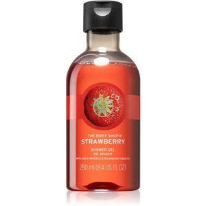 The Body Shop Strawberry felfrissítő tusfürdő gél 250 ml kép