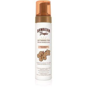 Hawaiian Tropic Self Tanning Foam Light/Medium önbarnító hab 200 ml kép