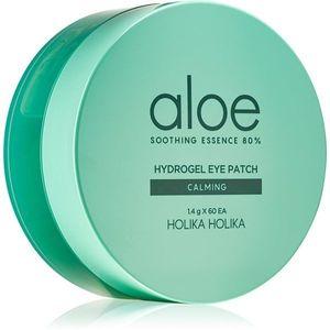Holika Holika Aloe Soothing Essence hidrogél maszk a szem körül az arcbőr megnyugtatására 60 db kép
