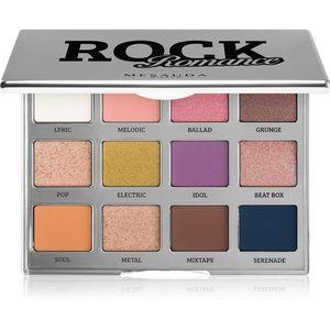 Mesauda Milano Rock Romance szemhéjfesték paletta 12x1, 2 g kép