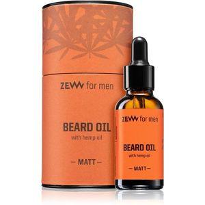 Zew Beard Oil with hemp oil szakáll olaj kender olajjal Matt 30 ml kép