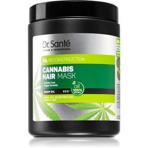 Dr. Santé Cannabis regeneráló maszk a károsult hajra 1000 ml kép