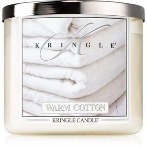 Kringle Candle Warm Cotton illatos gyertya I. 411 g kép