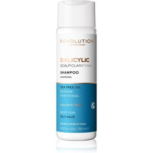 Revolution Haircare Skinification Salicylic tisztító sampon zsíros hajra és fejbőrre 250 ml kép