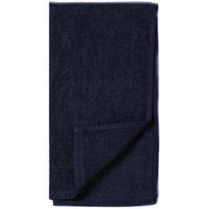 Sötétkék Pamut Törölköző - Beautyfor Cotton Towel Dark Blue, 50 x 90cm kép