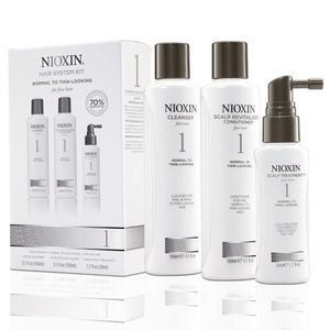 Nioxin - Kozmetikai csomag/hajra - System 1: Finom, vékonyszálú, normál hajra, hajritkulás ellen kép