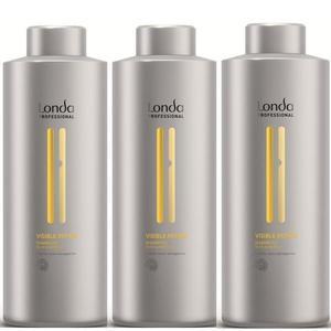 Javító sampon csomag, 3 db. - Londa Professional Visible Repair Shampoo 1000 ml kép