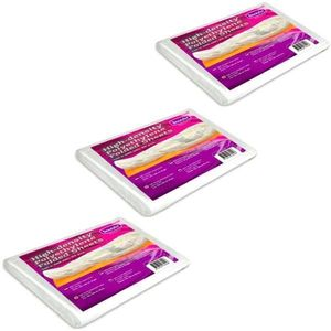 Polietilének lepedő Csomag testpakolásokhoz, 3db. - Beautyfor High-density Polyethylene Folded Sheets, 160 x 200cm, 50 db. kép